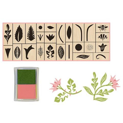 <center>Stamp Garden Rubber Stamp Set</center>