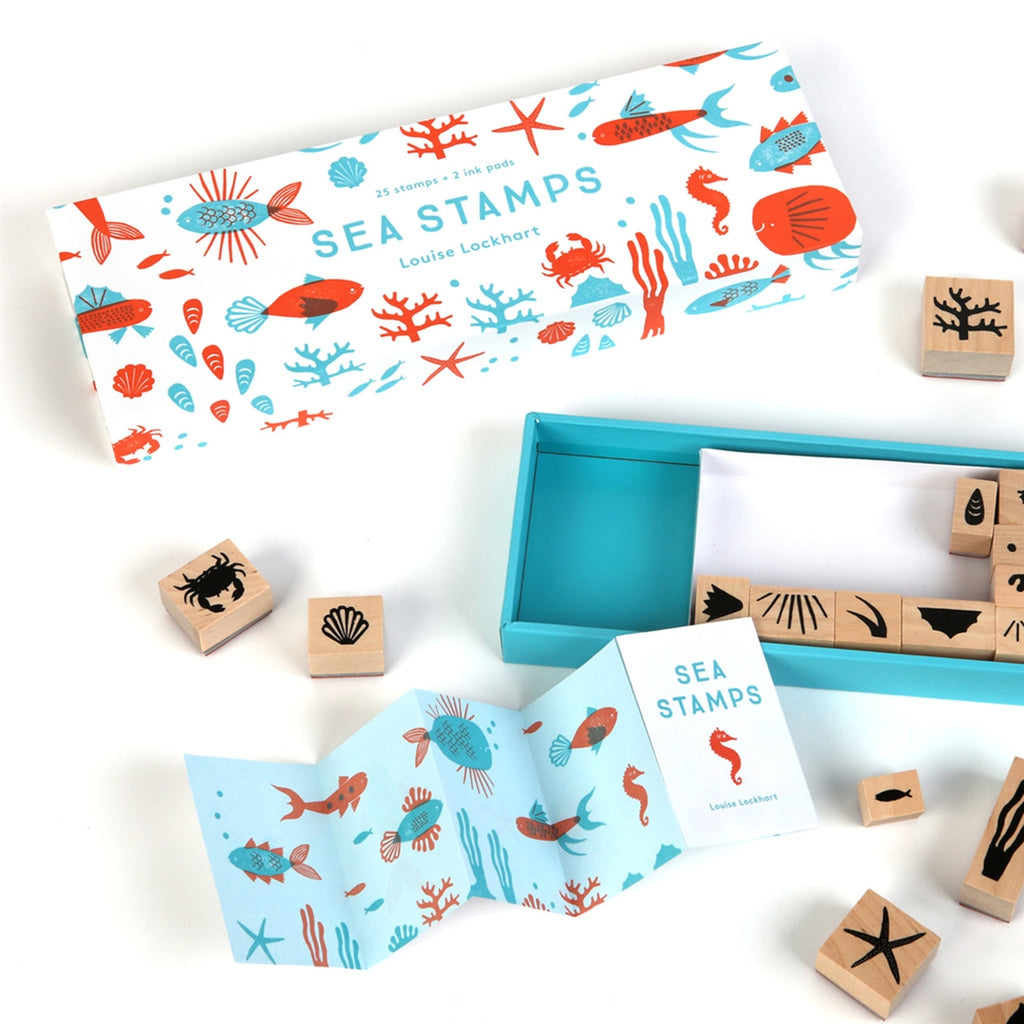 <center>Sea Stamps Rubber Stamp Set</center>