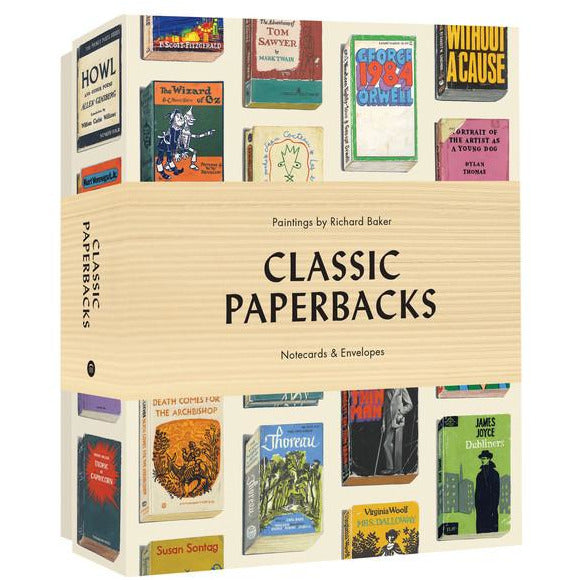 Classic Paperbacks Notecards & Envelopes