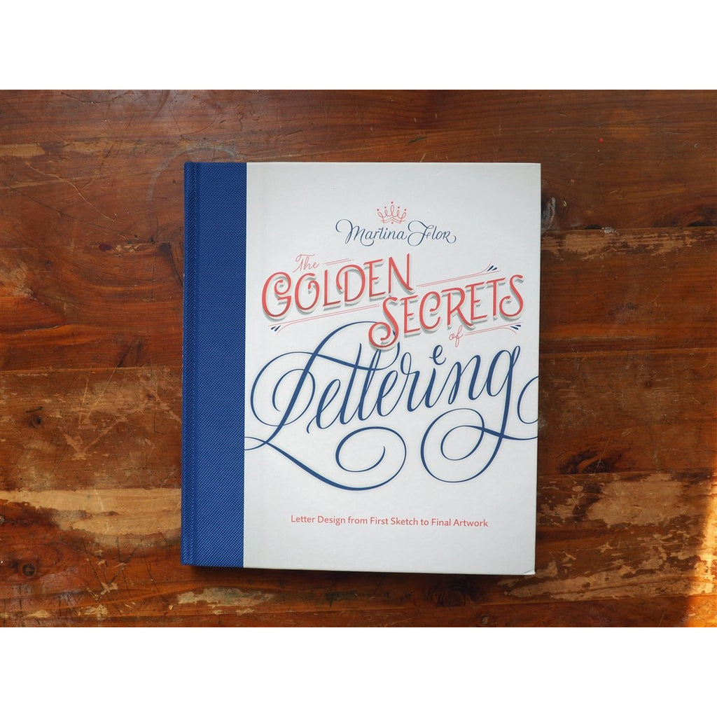 <center>The Golden Secrets of Lettering</center>