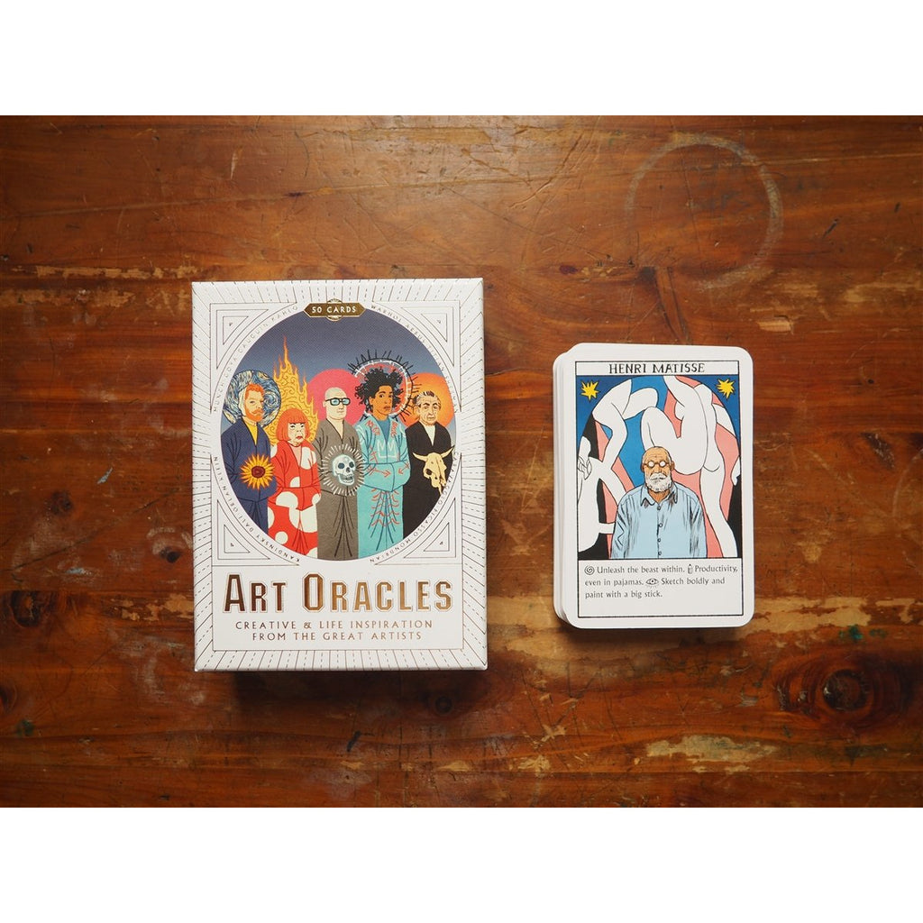 <center>Art Oracles: Creative & Life Inspirations from the Great Artists</center>
