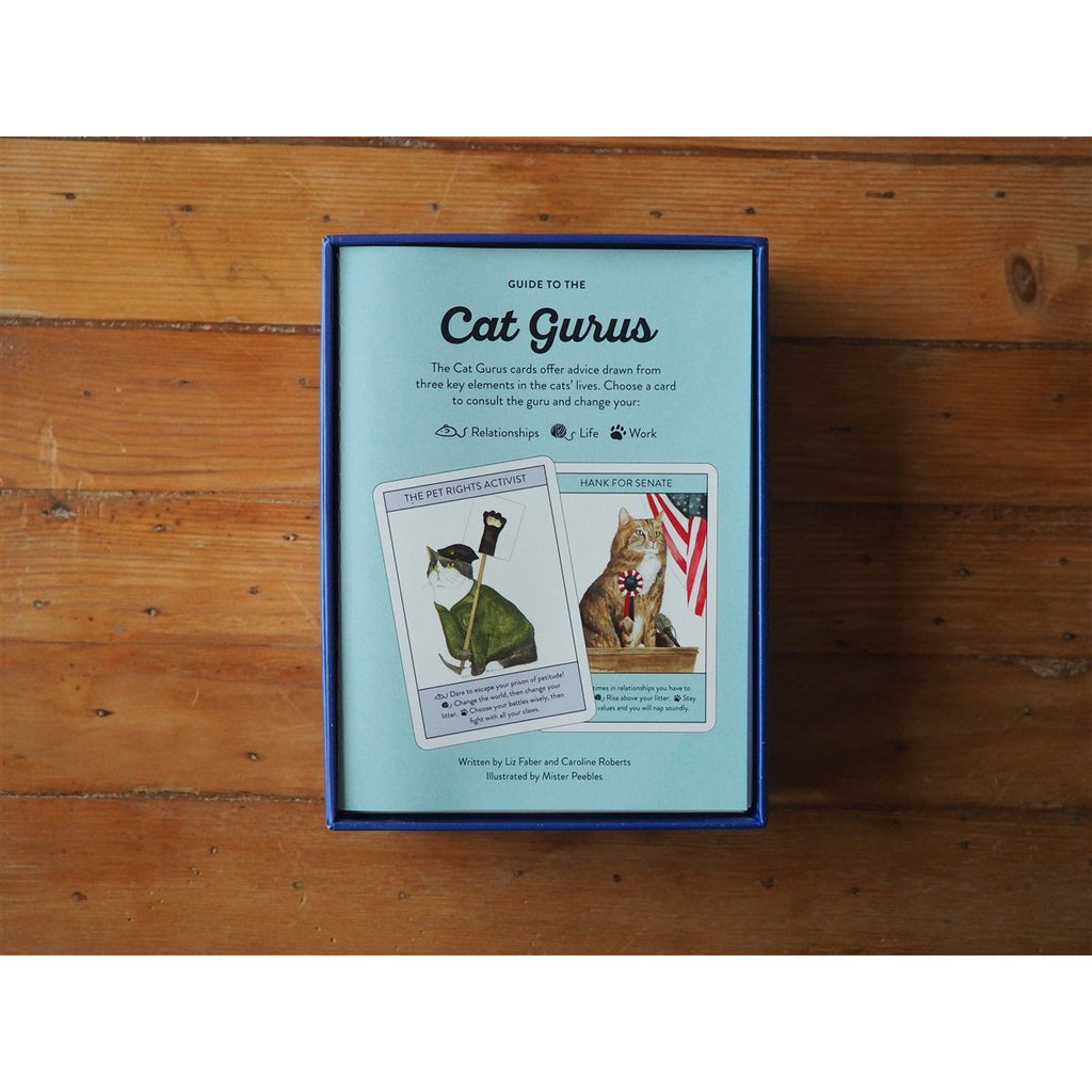 <center>Cat Gurus: Wisdom from the World's Most Celebrated Felines</center>