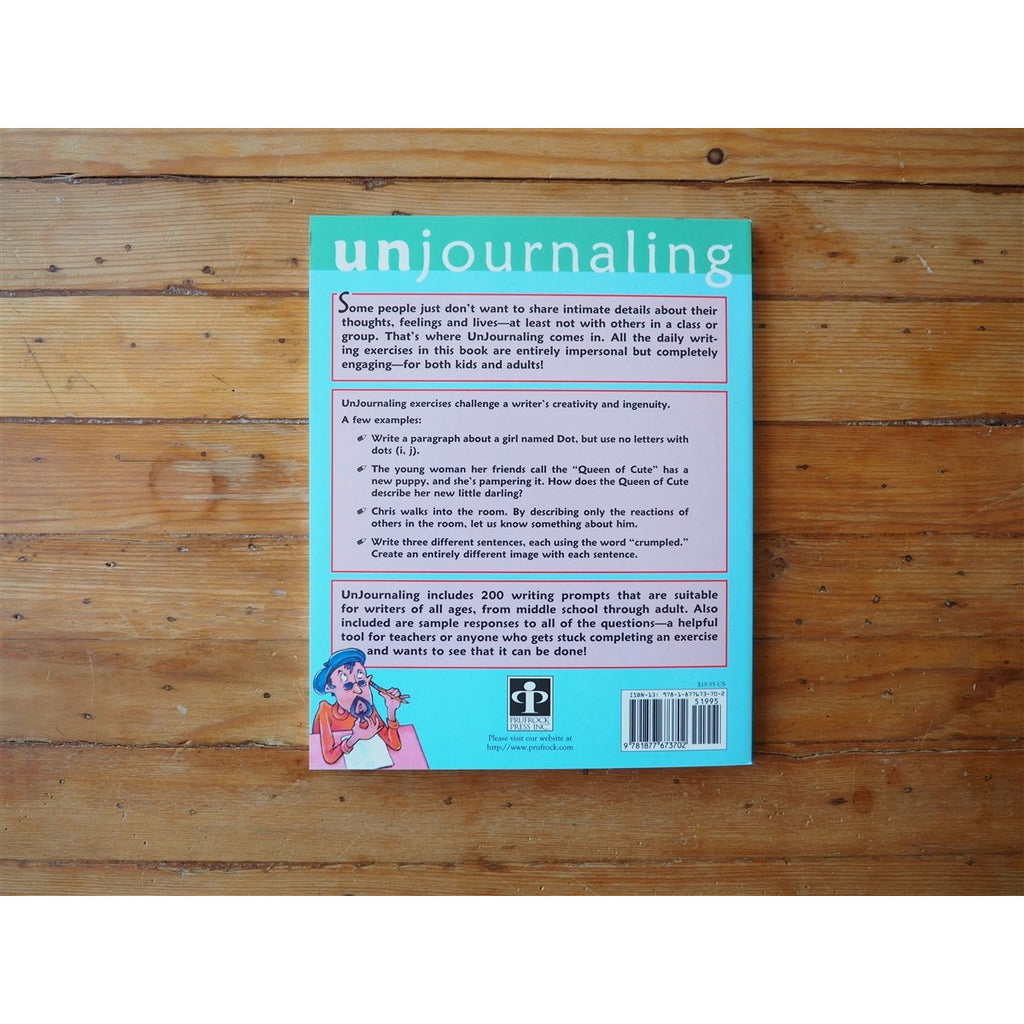 <center>Unjournaling by Dawn DiPrince</center>
