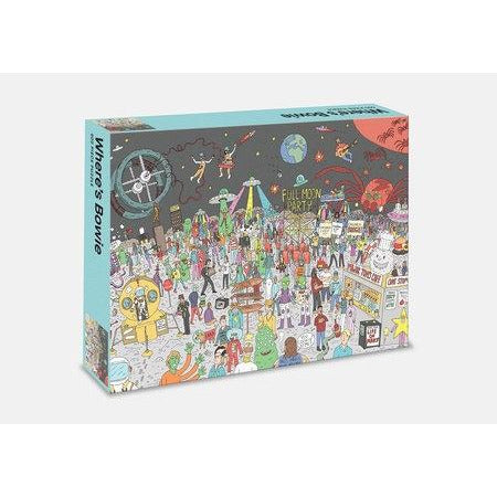 <center>Where's Bowie by Kev Gahan  - 500 Piece Puzzle</center>