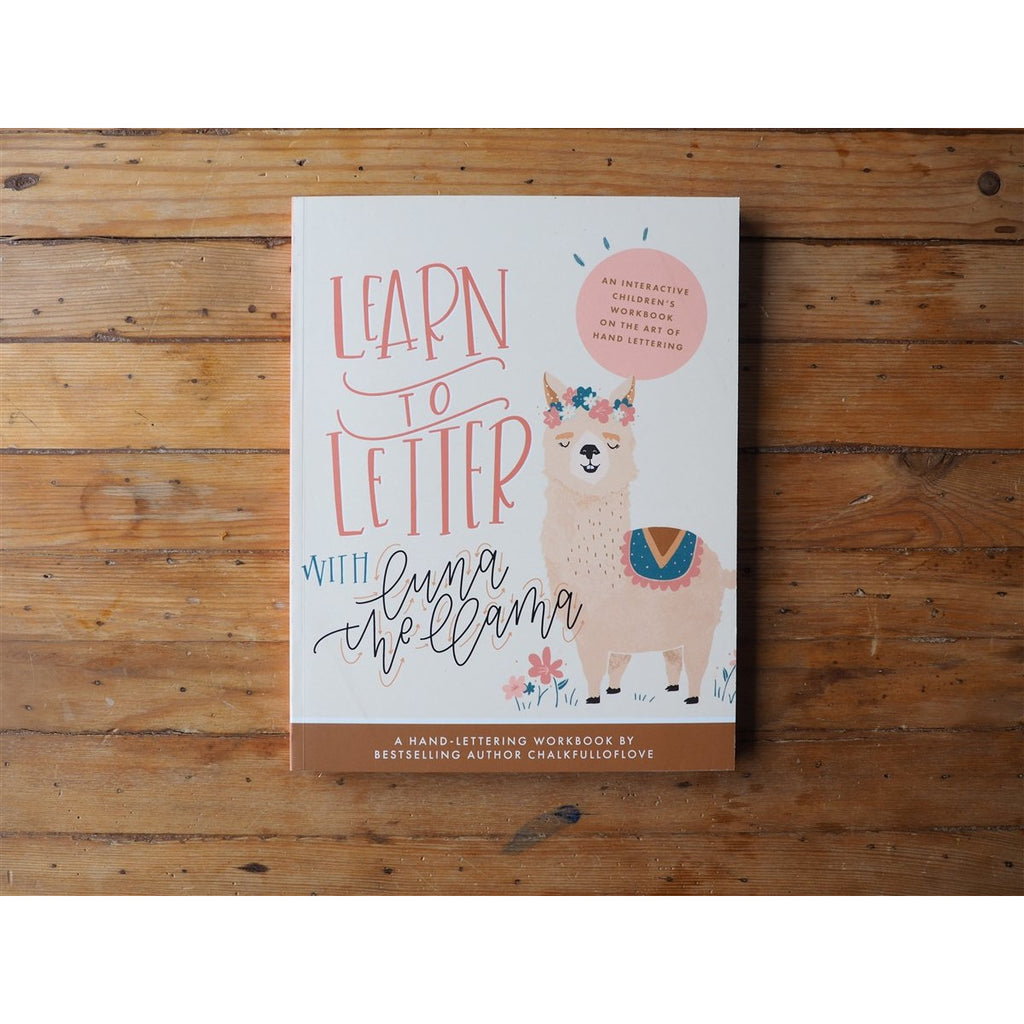 <center>Learn to Letter with Luna the Llama by Chalkfulloflove</center>