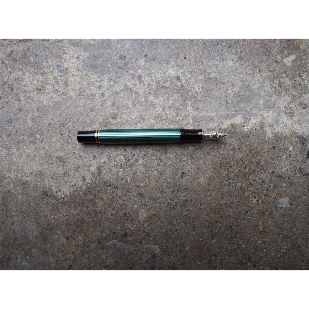 <center>Pelikan Souveran M400 Fountain Pen- Black Green</center>