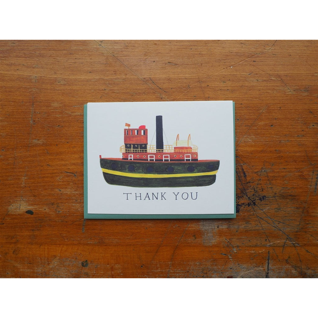 <center>Small Adventure - Card - Tugboat Thank You</center>