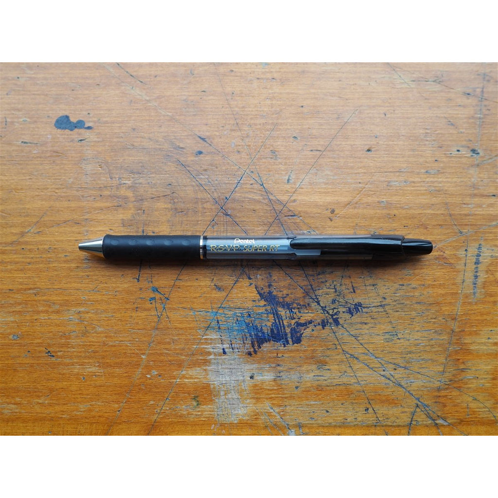 <center>Pentel R.S.V.P Super 0.7mm - Black</center>