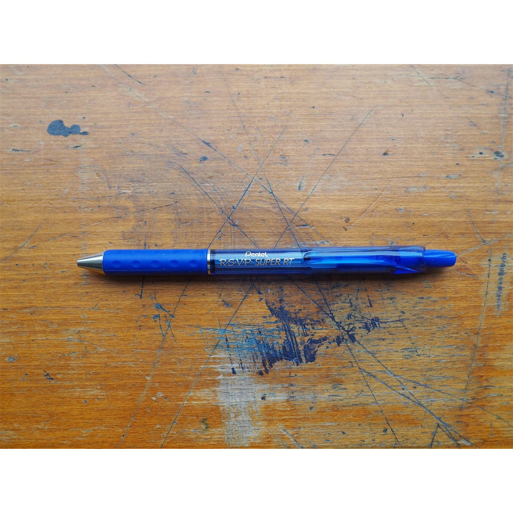<center>Pentel R.S.V.P Super 0.7mm - Blue</center>