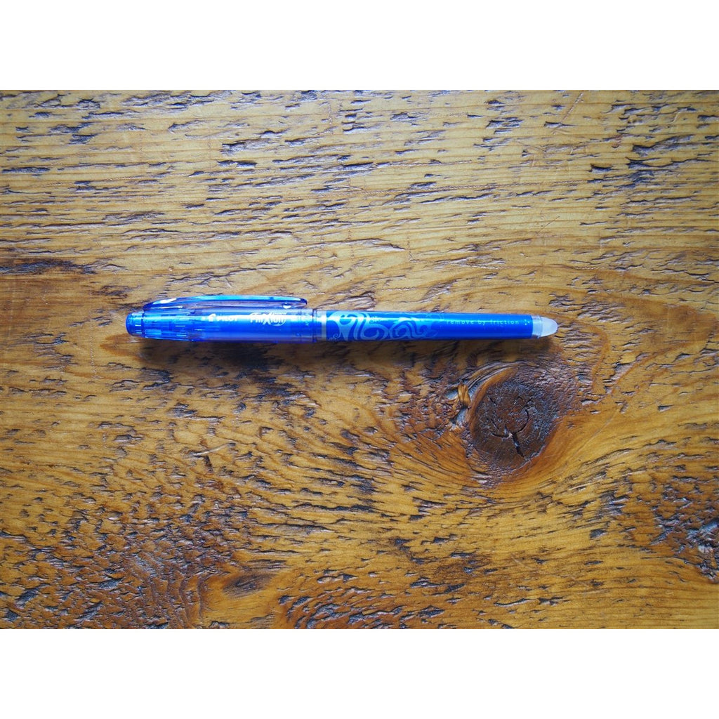 <center>Pilot FriXion 0.5mm Point Gel Pen - Blue</center>