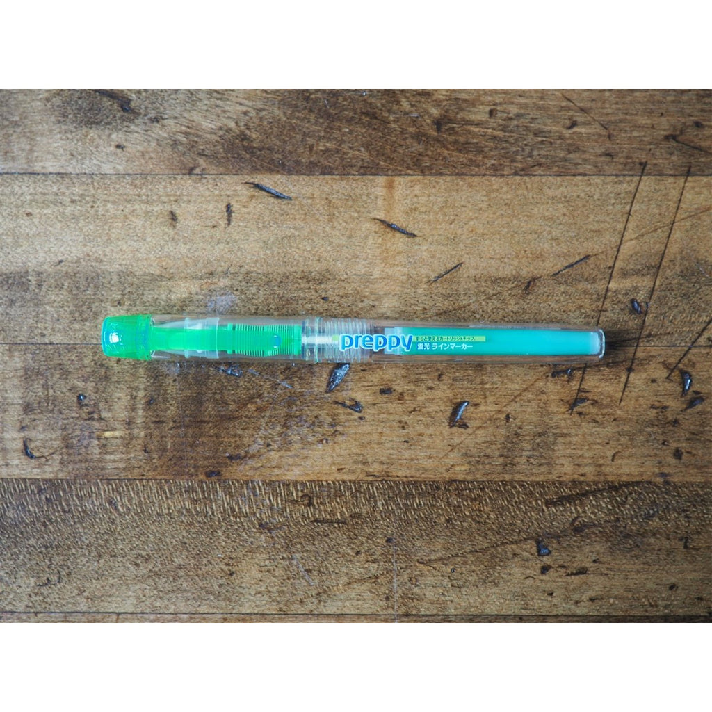 <center>Platinum Preppy Highlighter - Green</center>