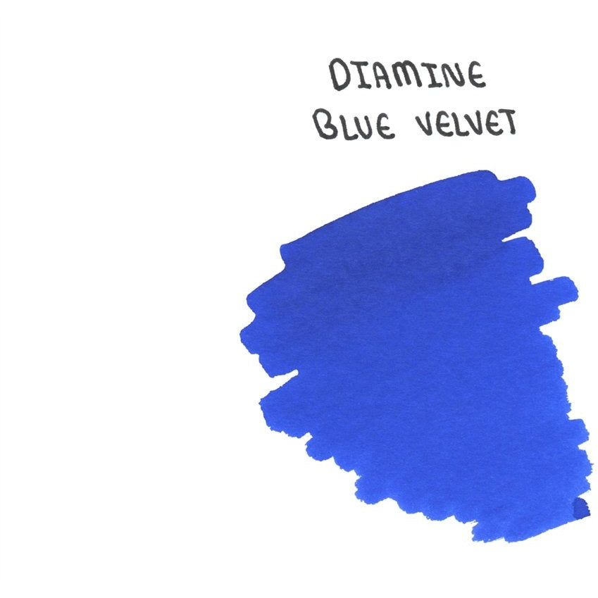 <center>Diamine 150th Anniversary ink: Blue Velvet (40 mL)</center>