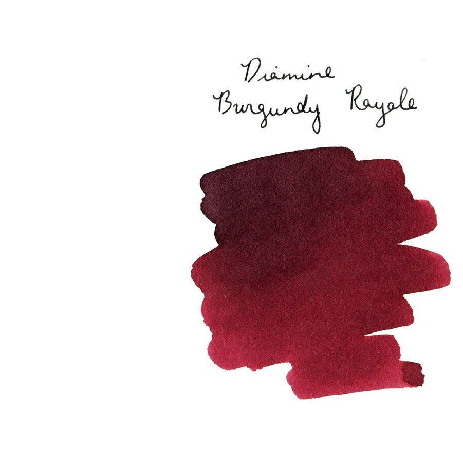 <center>Diamine 150th Anniversary ink: Burgundy Royale (40 mL)</center>