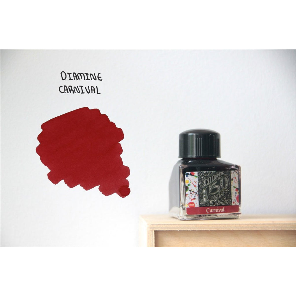 <center>Diamine 150th Anniversary ink: Carnival (40 mL)</center>