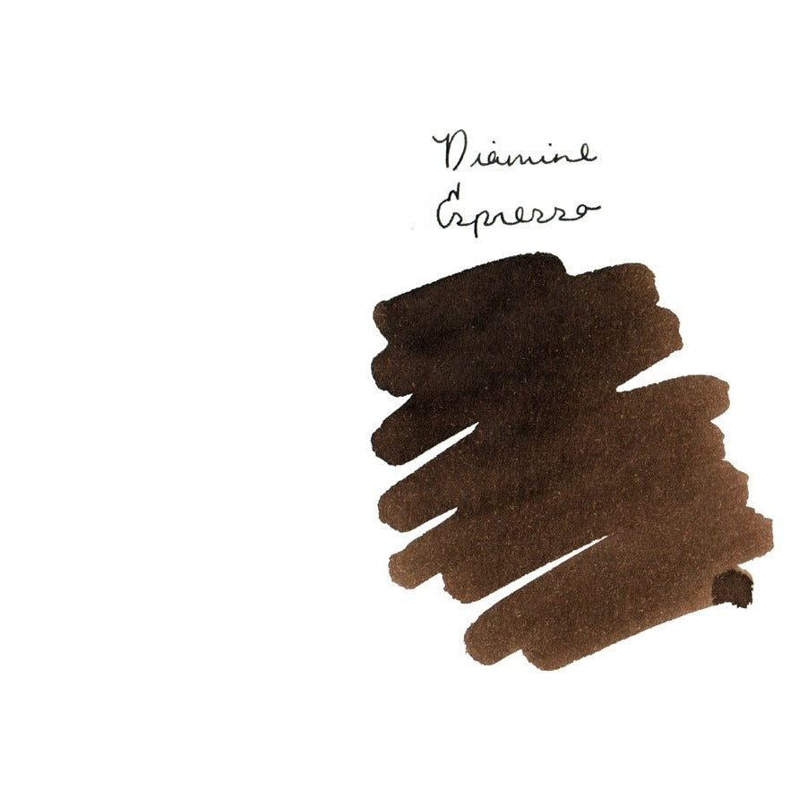 <center>Diamine 150th Anniversary ink: Espresso (40 mL)</center>