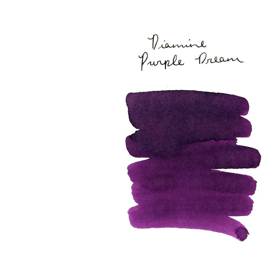 <center>Diamine 150th Anniversary ink: Purple Dream (40 mL)</center>