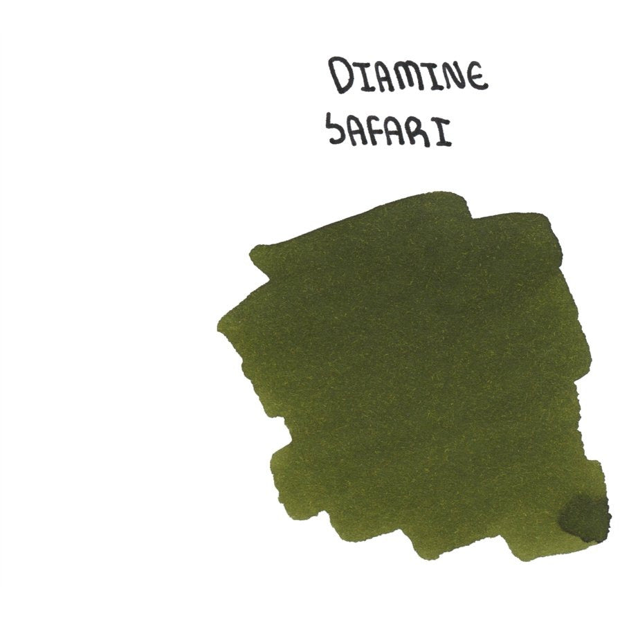 <center>Diamine 150th Anniversary ink: Safari (40 mL)</center>