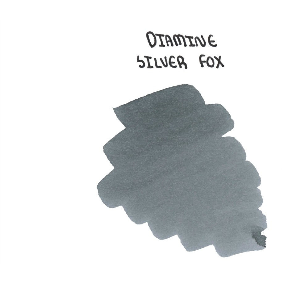 <center>Diamine 150th Anniversary ink: Silver Fox (40 mL)</center>