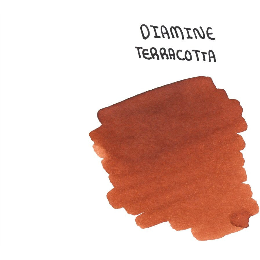 <center>Diamine 150th Anniversary ink: Terracotta (40 mL)</center>