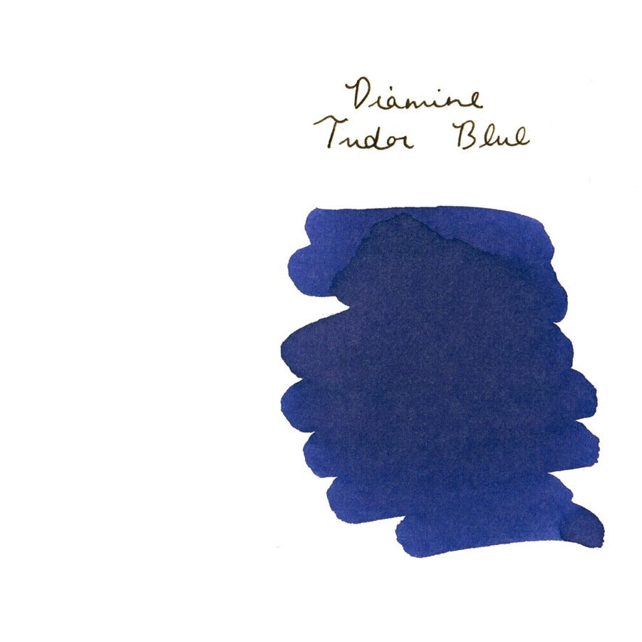 <center>Diamine 150th Anniversary ink: Tudor Blue (40 mL)</center>