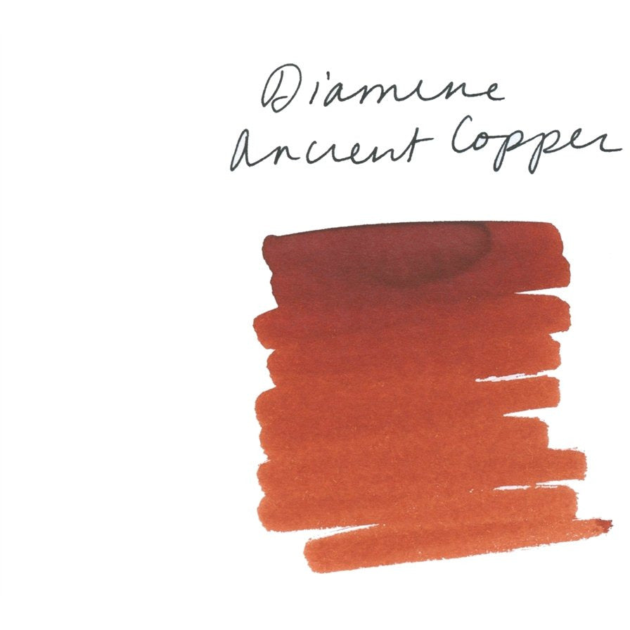 <center>Diamine Fountain Pen Ink (80mL) - Ancient Copper </center>