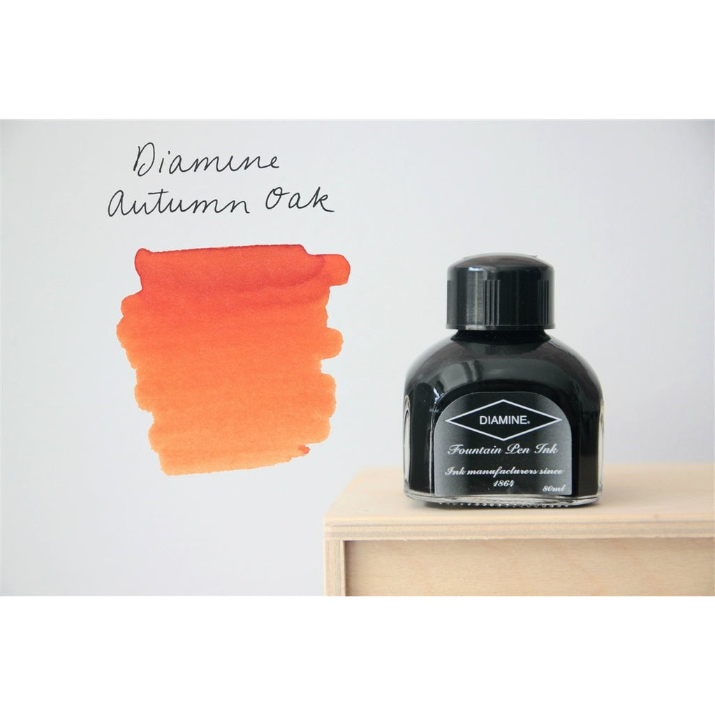 <center>Diamine Fountain Pen Ink (80mL) - Autumn Oak</center>