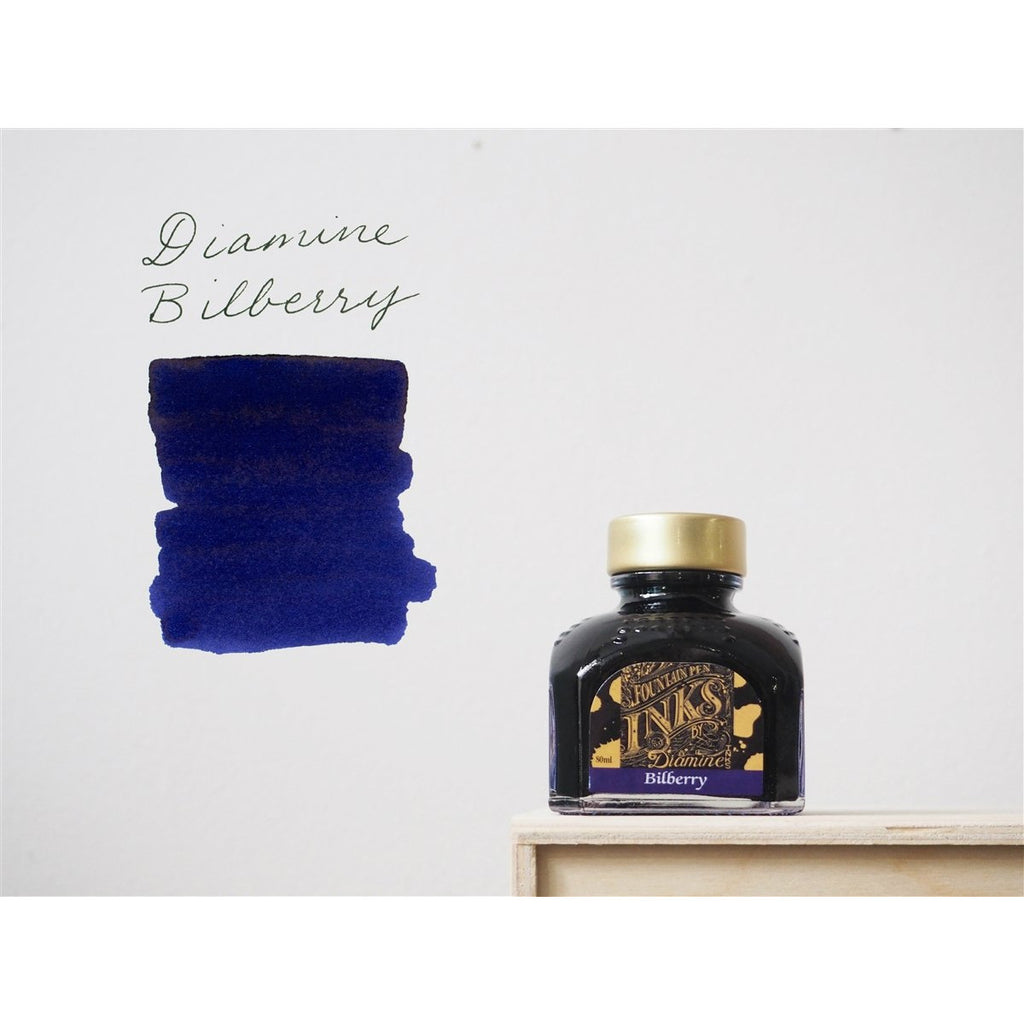 <center>Diamine Fountain Pen Ink (80mL) - Bilberry </center>