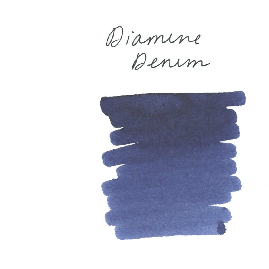 <center>Diamine Fountain Pen Ink (80mL) - Denim </center>
