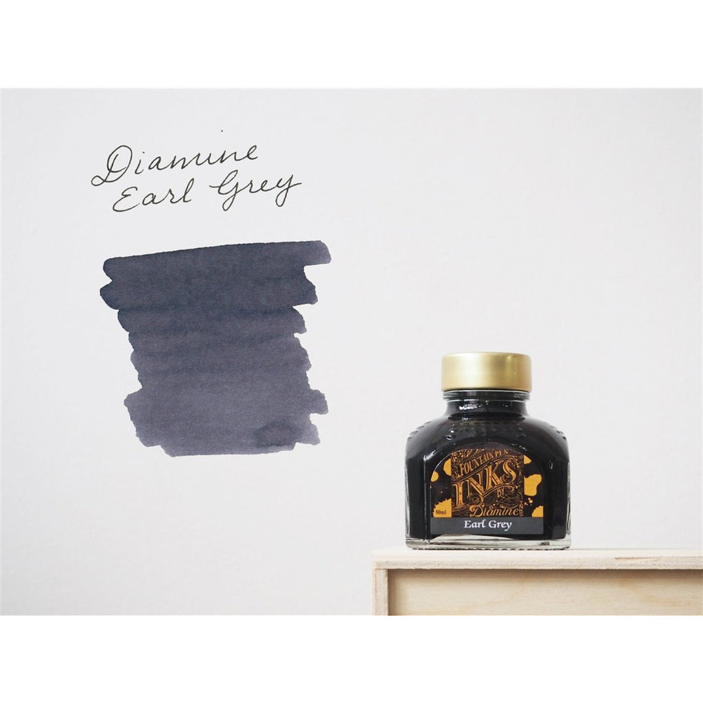 <center>Diamine Fountain Pen Ink (80mL) - Earl Grey </center>