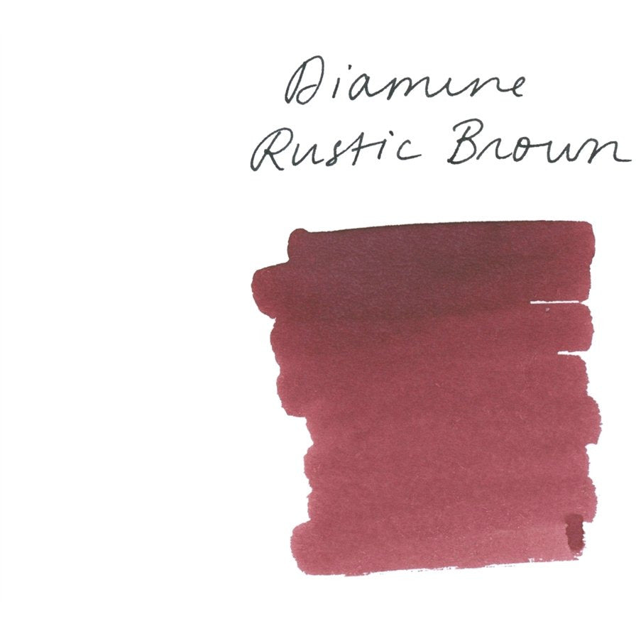 <center>Diamine Fountain Pen Ink (80mL) - Rustic Brown </center>