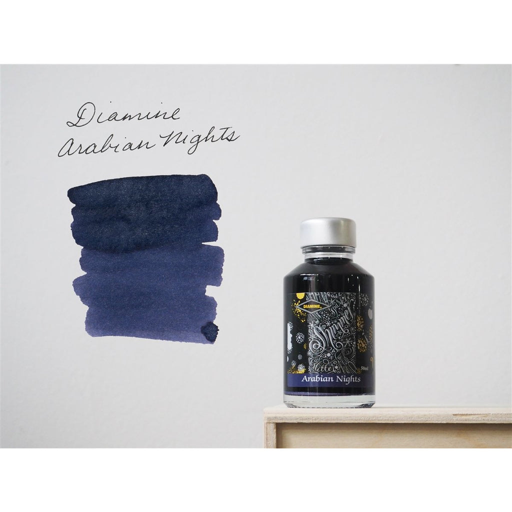 <center>Diamine Shimmertastic: Arabian Nights (50 mL)</center>
