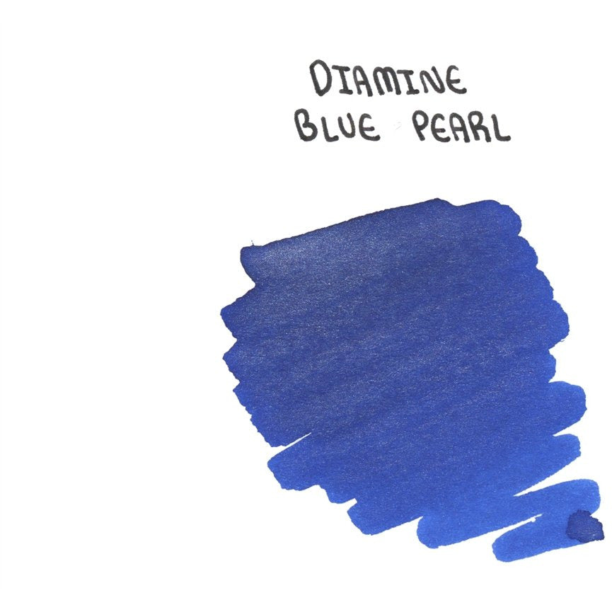 <center>Diamine Shimmertastic: Blue Pearl (50 mL)</center>