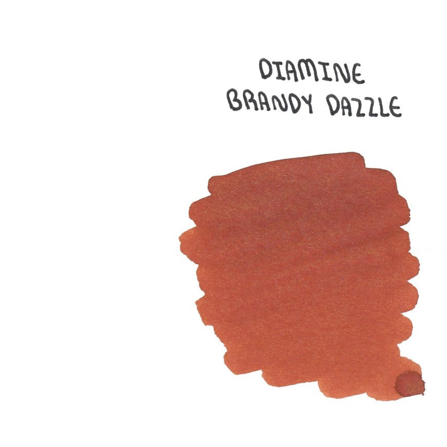 <center>Diamine Shimmertastic: Brandy Dazzle (50 mL)</center>