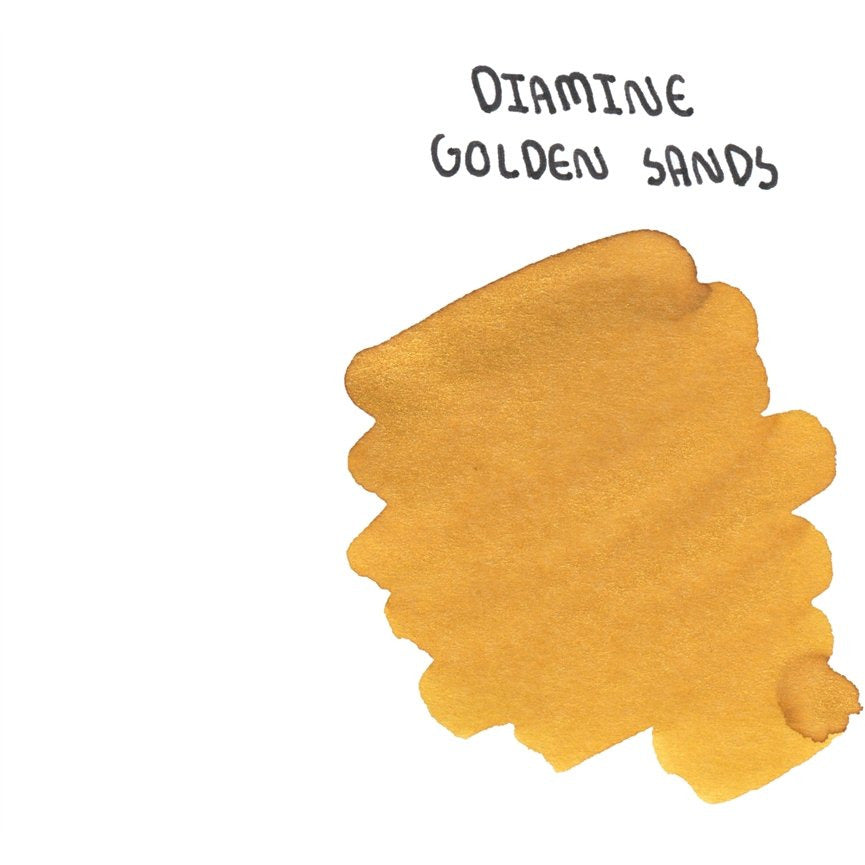 <center>Diamine Shimmertastic: Golden Sands (50 mL)</center>