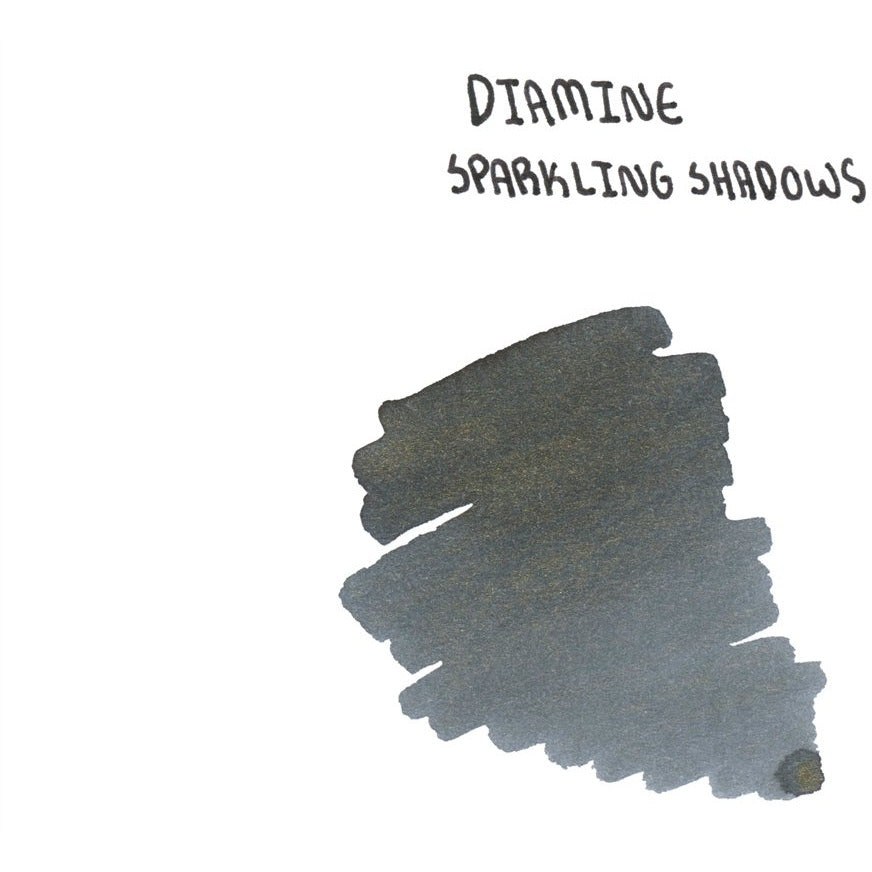 <center>Diamine Shimmertastic: Sparkling Shadows (50 mL)</center>