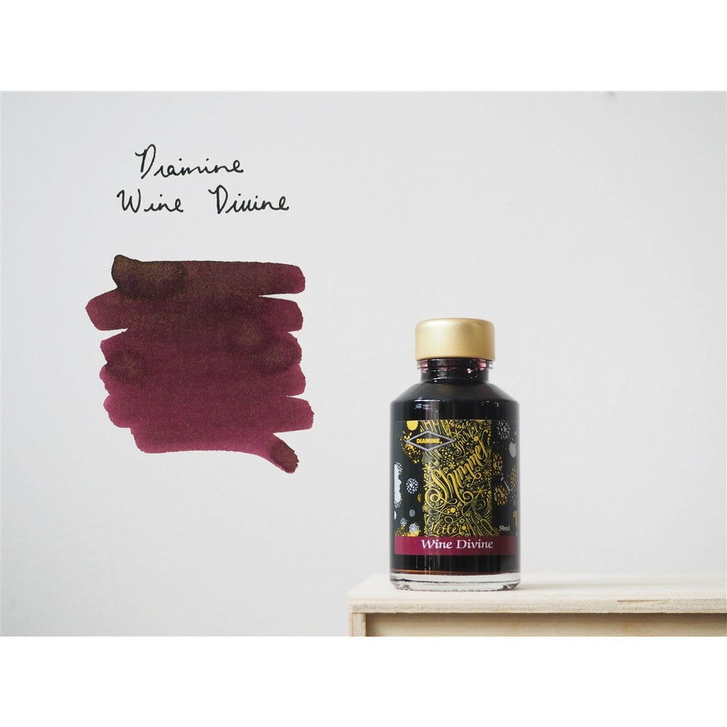 <center>Diamine Shimmertastic: Wine Divine (50 mL)</center>
