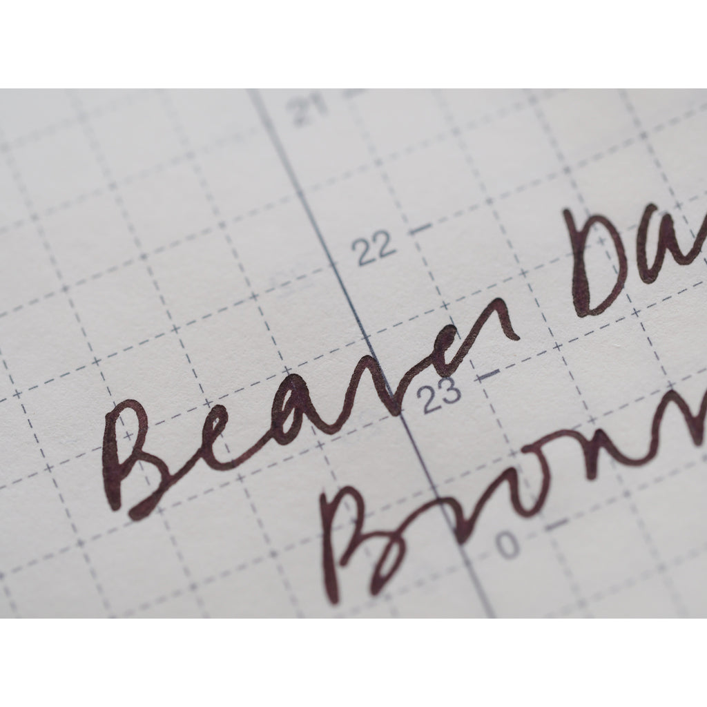 Ferris Wheel Press Fountain Pen Ink - Autumn 2020 Series - Beaver Dam Brown (38mL)