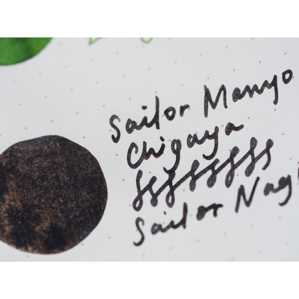 Sailor Manyo Fountain Pen Ink (50mL) - Chigaya