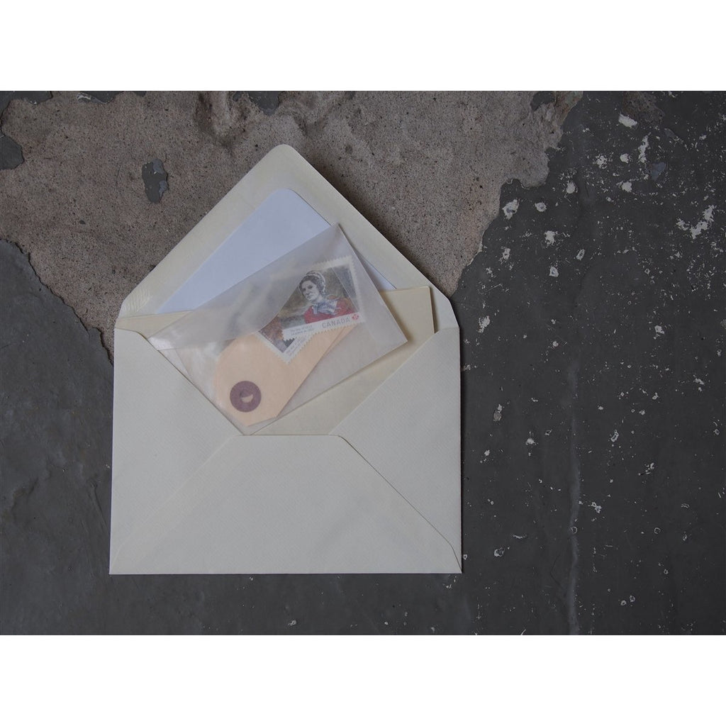 "<center>Glassine Envelopes 20 Pack- 6"" x 3.5""</center>"