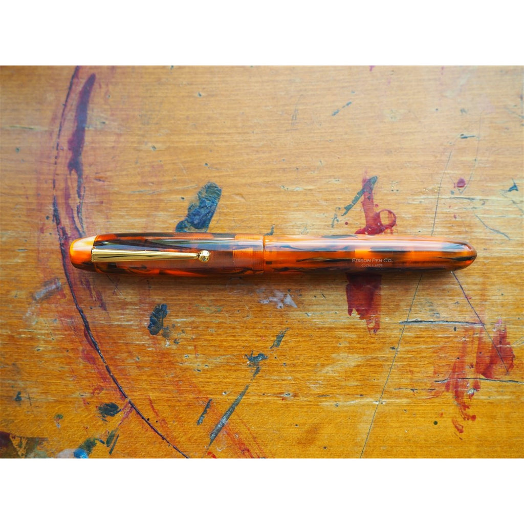 <center>Edison Pen Co. Fountain Pen - Collier Antique Marble</center>