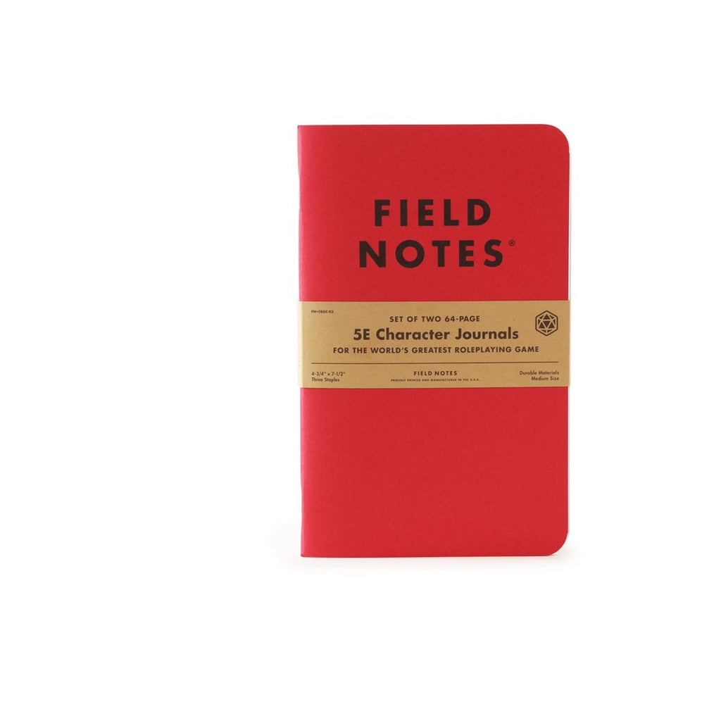 <center>Field Notes - 5E Character Journal</center>