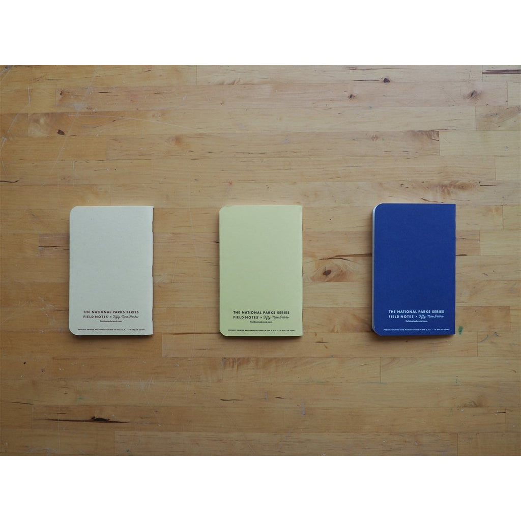 <center>Field Notes - 2019 Summer Limited Edition - National Parks - Series A</center>