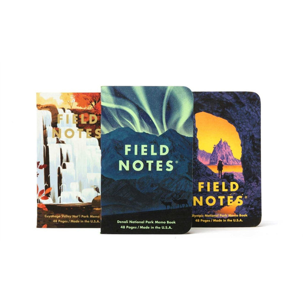 <center>Field Notes - 2020 Summer Limited Edition - National Parks - Series E</center>