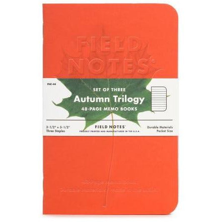 <center>Field Notes - 2019 Fall Limited Edition - Autumn Trilogy</center>