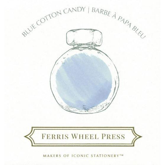 <center>Ferris Wheel Press Fountain Pen Ink - Blue Cotton Candy 85mL</center>