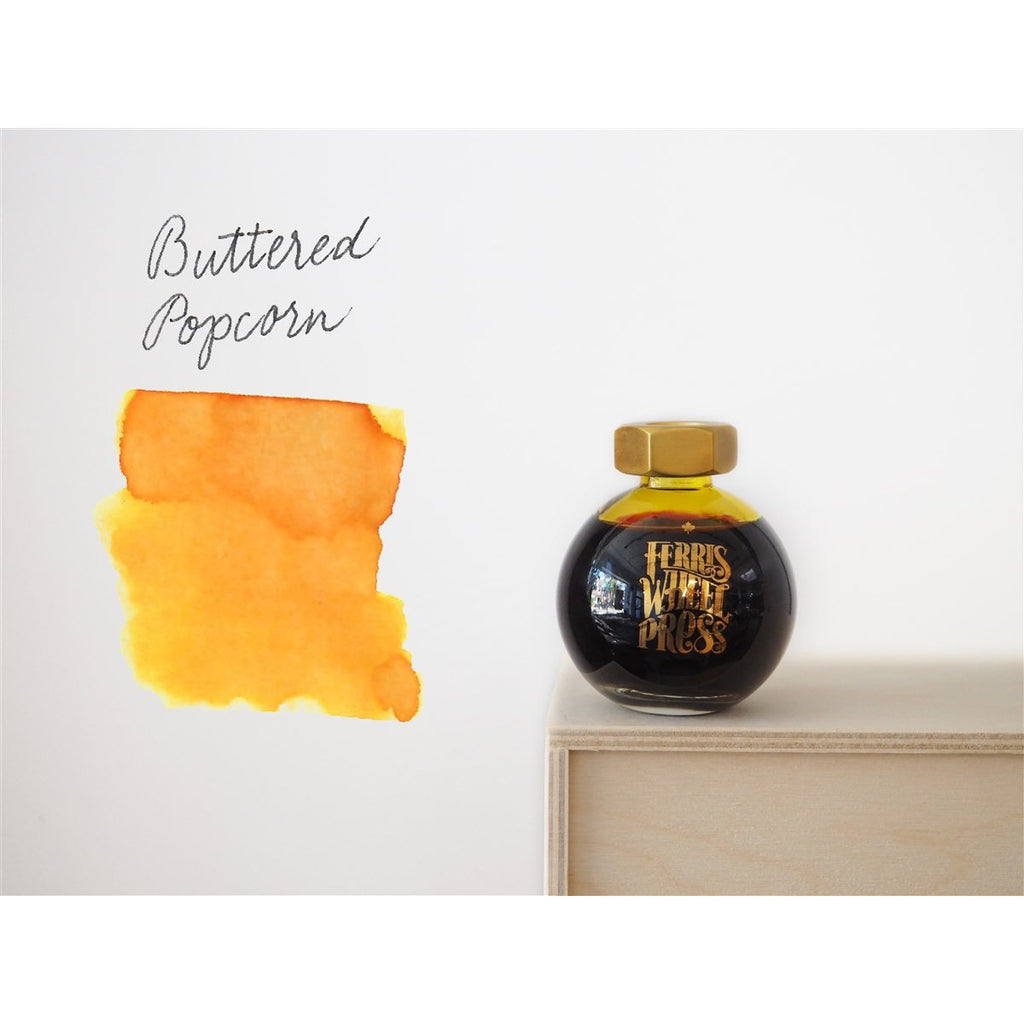 <center>Ferris Wheel Press Fountain Pen Ink - Buttered Popcorn 85mL</center>