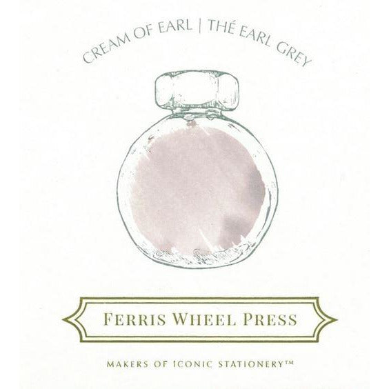 <center>Ferris Wheel Press Fountain Pen Ink - Cream of Earl 85mL</center>