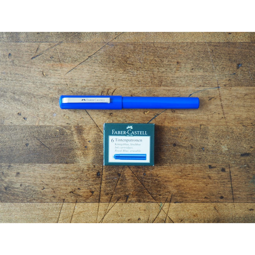 <center>Faber-Castell School Fountain Pen - Blue</center>