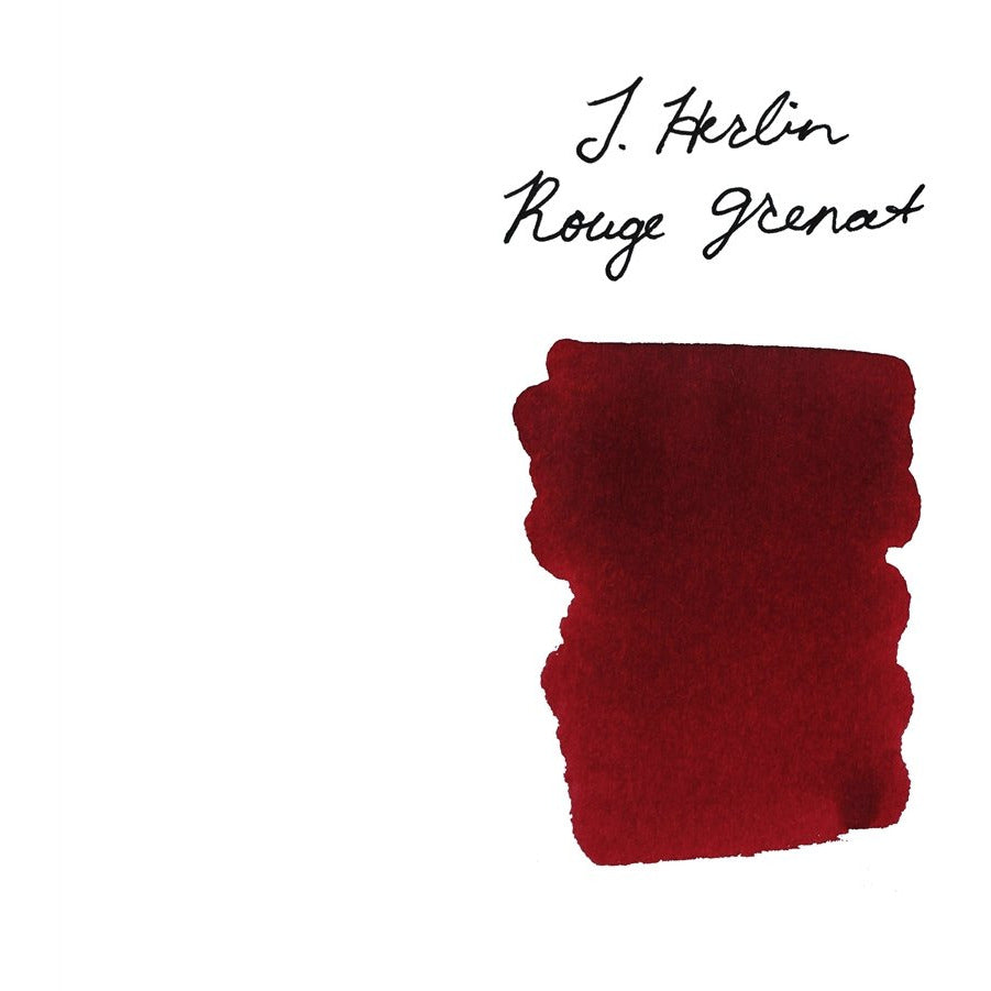 <center>J. Herbin Fountain Pen Ink (30mL) - Rouge Grenat</center>