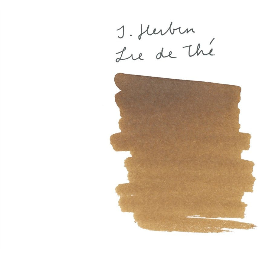 <center>J. Herbin Fountain Pen Ink (30mL) - Lie De The</center>